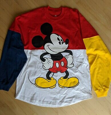 Disney Store Mickey Mouse Spirit Jersey Adult Sz Medium NEW W/Tags