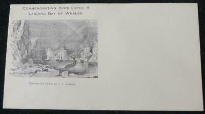 Advertising Envelope, Postal Cover, Admiral Byrd's 1933 Antarctic Expedition Ii