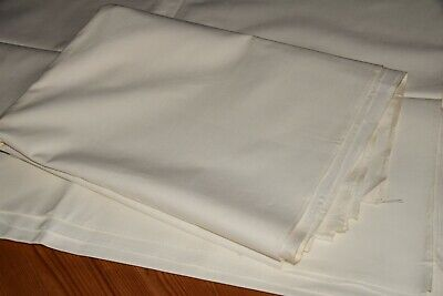 2 Old Sheet Sheets Sheets Fabric Never Used Approx. 225 X 150 CM (1504)