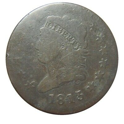 Large cent/penny 1813 classic head tough date