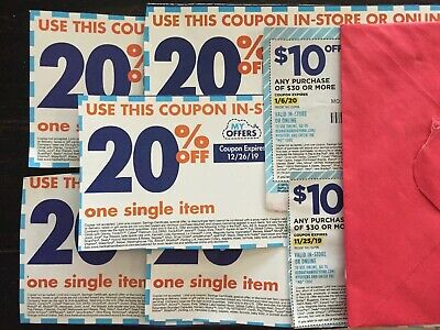 Bed Bath & Beyond coupons:Two $10 Off $30 & Five 20% Off Single Item. Ships Fast