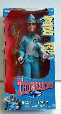 Thunderbiros , Scott Tracy, Action Figure Vintage. 1999.( CARLTON).