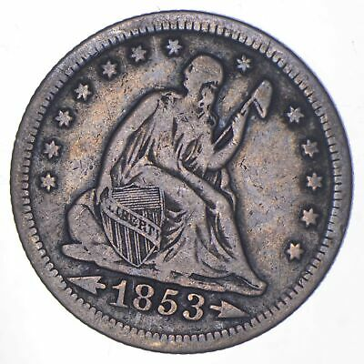 1853-O Seated Liberty Quarter - Charles Coin Collection *915