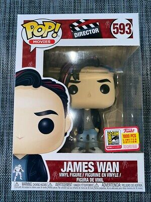 James Wan #593 Funko Pop! Movies: Director Limited 1,000 Pcs SDCC 2018 Exclusive