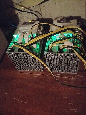 TWO BITMAIN Antminer Z9 Mini ASIC Equihash ZCASH Miner PSU Included