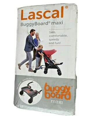 Lascal Buggy Board Maxi Universal Ride-On Stroller Board