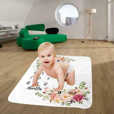 Newborn Baby Letter Milestone Age Number For Photography Rug Photos Props Mats