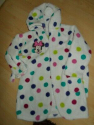 Disney Minnie Mouse Dressing Gown Age 18/24 Months