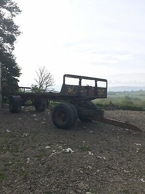 28ft Bale Trailer (artic,dolly)