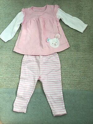 George Girls Outfit Age 6-9 Months