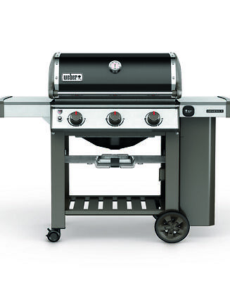 Weber BBQ - Genesis E310 GBS BBQ + Cover + Gourmet Poultry Roaster