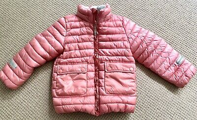 Girls Coat By Polarn O Pyret 4-5 Years Old