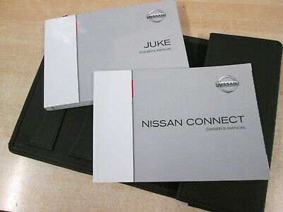 Nissan Juke Handbook Pack  Owners Manual 2011 - 2015 ++ Sat Navigation Connect