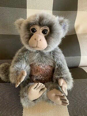 """Retired Charlie Bear Lazlo Monkey 10.5"""" 2016 Collection with tags on"""