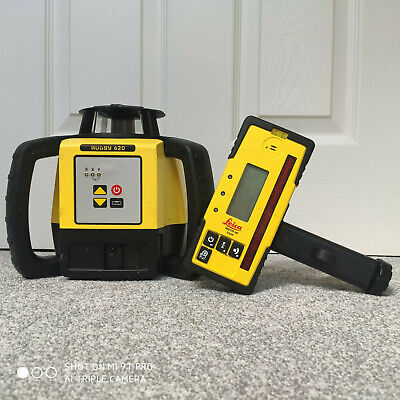Recon. Leica Rugby 620 Self Levelling Laser Level | Calibrated, 3 Month Warranty