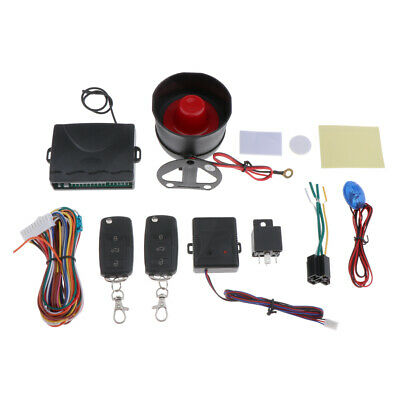 Car Anti-Theft Security Alarm System Device with Shock Sensor Universal