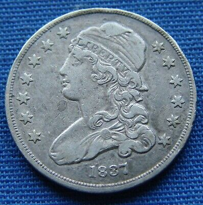 *Nice Looking 1837 Capped Bust Quarter - Estate Fresh*