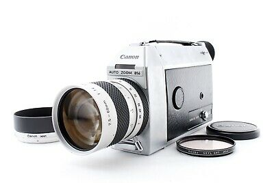 Full Working Near Mint  Canon Auto Zoom 814 Super 8 film Movie From Japan