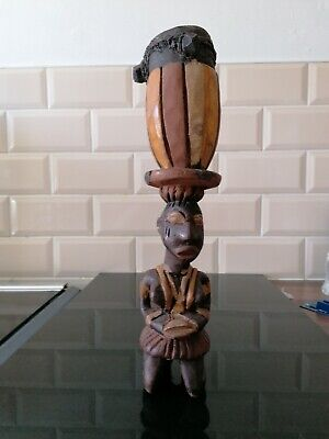Ritual African Wooden Statue