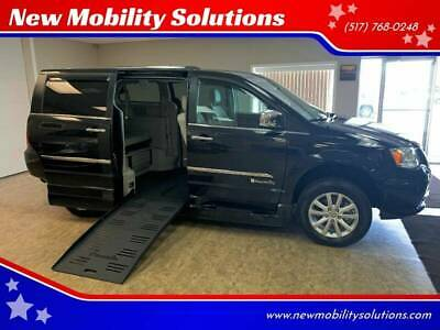 2016 Chrysler Town and Country Limited Platinum 4dr Mini Van Wheelchair Accessible, Handicap Ramp Lift Conversion Van, NMS VANS