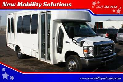 2012 Ford E-Series Chassis E 350 SD 2dr Commercial/Cutaway/Chassis 138 176 in Wheelchair Accessible, Handicap Ramp Lift Conversion Van, NMS VANS