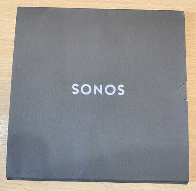 Sonos Play: 1 Original QuickStart Guide Perfect Condition