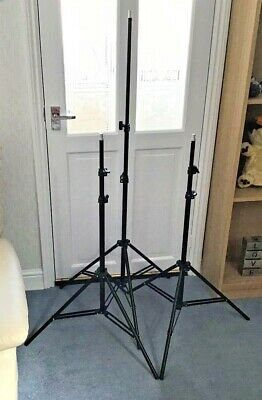 Studio Tripod Photographic Stands (3)