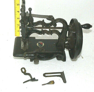ANTIQUE JAS.G.WEIR SEWING MACHINE Circa. 1880 WORKING ORDER FOR RESTORATION