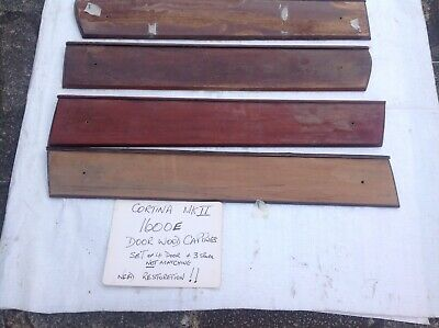 1600E Ford Cortina Wood Door Cappings Used