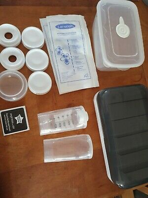 Tommee Tippee Breast Pump Accessories Breastmilk Storage Pouches Case Bags Tub