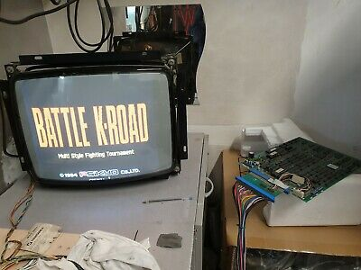 Jamma PCB Battle K-Road , Psikyo ,Working