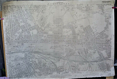 Manchester Ordnance Survey railway station maps