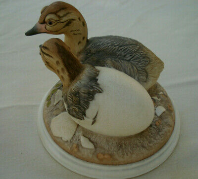 Vintage, Ostrich Hatchlings #57 Bill Kazmar ceramic figurine