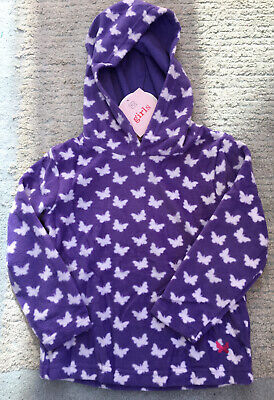 Tu Girls Fleece Hoody Age 4