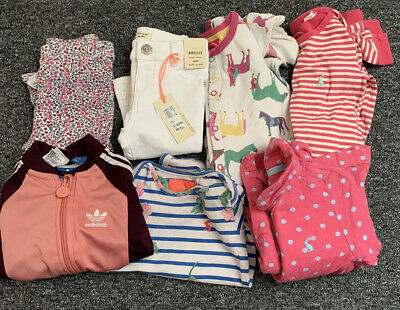Girls 9-12 Months Bundle Joules River Island Adidas