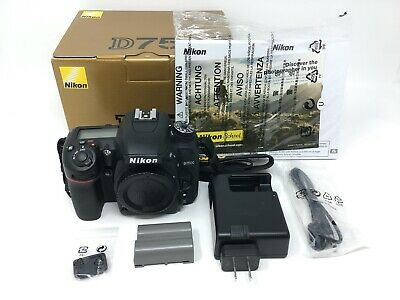 Nikon D7500 20.9 MP Digital SLR Camera - Black (Body Only) - 3879