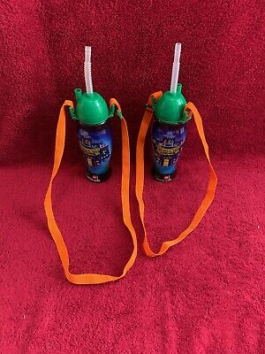 2 X Legoland Haunted House Drinks Bottles. / Vessel