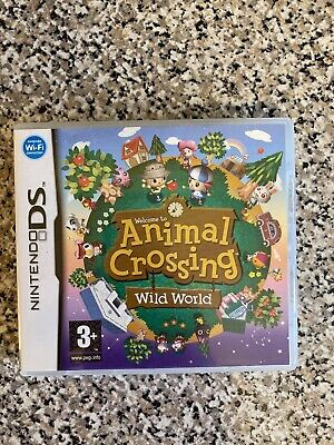 Nintendo DS Animal Crossing Wild World Game NDS Boxed