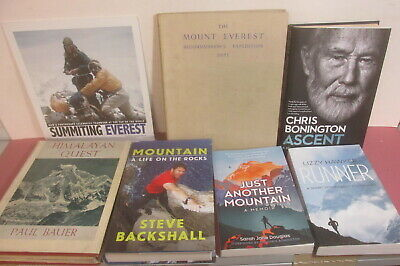Mountaineering book and journal collection x 31 titles, job lot