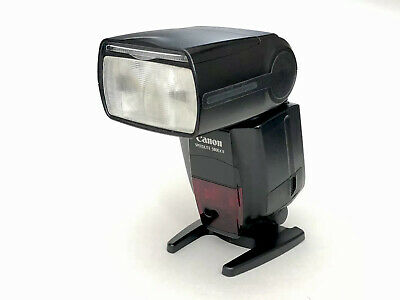 Canon Speedlite 580EX II Shoe Mount Flash with Foot, Instructions and Case