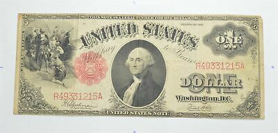 Seldom Seen! 1917 - Red Seal - Legal Tender $1.00 United States Note *453