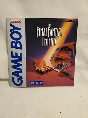 The Final Fantasy Legend (Nintendo GameBoy) Instruction Booklet Manual [NO GAME]