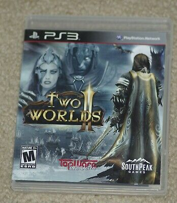 Two World II 2 ( PlayStation 3) Cover Art, Manual & Game Case- No Game