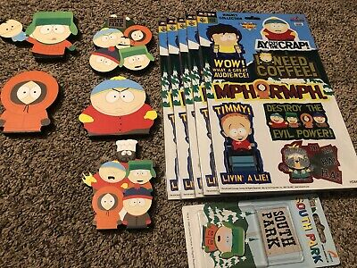 South Park Large Magnet Collection Lot of 41 Rare Magnets
