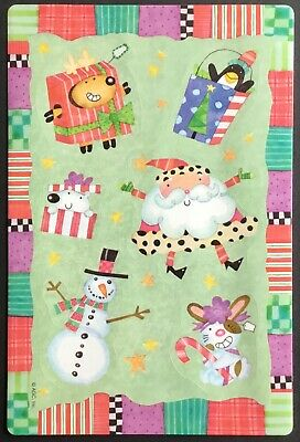 Vintage Stickers - American Greetings - Christmas - Excellent!!
