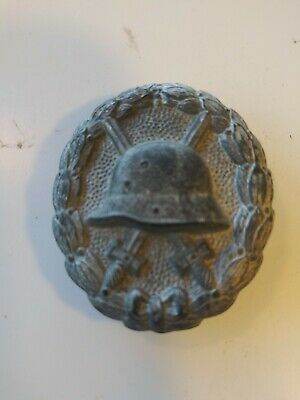 Original Vintage German Ww1 Silver Wound Badge