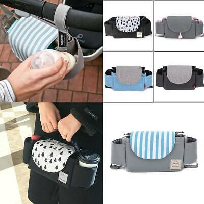 Baby Diaper Nappy Changing Mummy Bag Organiser Stroller Pushchair Pram Holder UK