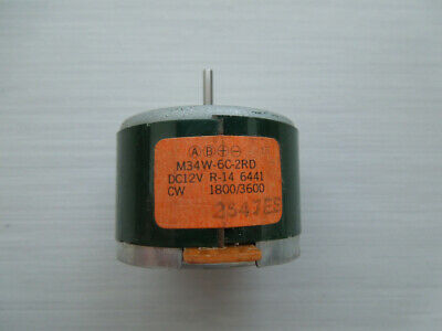 Tascam 112R DC Motor suitable replacement. M34W-6C-2RD