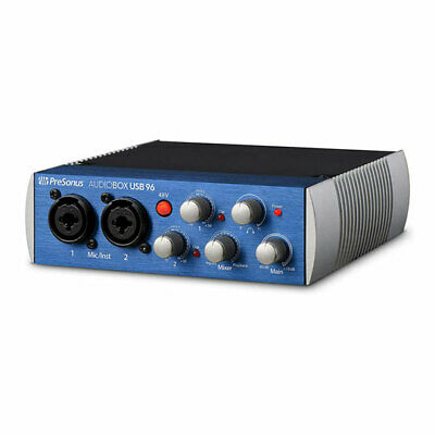 PreSonus AudioBox USB® 96, 2x2 USB Audio Interface for Musician, Producer, Podca