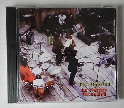 """The Beatles CD - As Nature Intended - Rooftop Performance + """"Get Back"""" Sessions"""